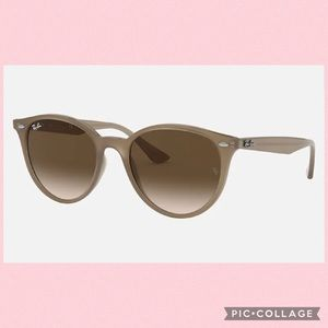 Ray-Ban Gradient Beige Polarized Sunglasses